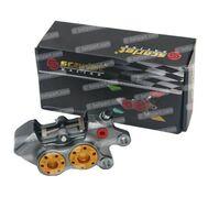 Caliper Dl 11R 4 Piston CNC Scarlet