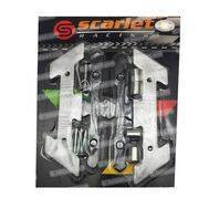 Cover Baut Spakbor 2306 NMax/Aerox Silver Scarlet