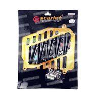 Cover Radiator 2519 NMax Gold/Hitam Scarlet