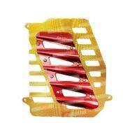 Cover Radiator 2519 NMax Merah/Gold Scarlet