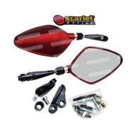 Kaca Spion 228 Merah Scarlet