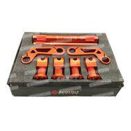Stang Jepit Set CNC 851/12 Orange Scarlet