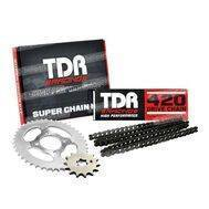 Gear Set + Rantai 420-106L 14-40T Jup Z New TDR