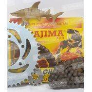 Gear Set + Rantai RC 80 / RC 100 TAJIMA