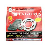 Gear Set + Rantai TVS Apache TAGUMA