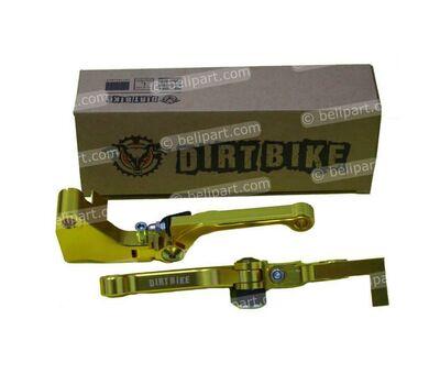 Handle CNC KLX Gold Dirt Bike