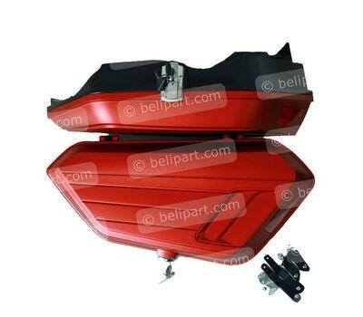 Box Samping NMax Merah Doff BBS