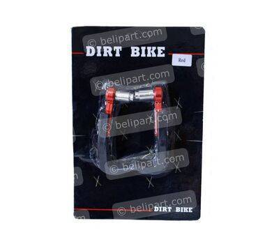Hand Guard Merah Dirt Bike