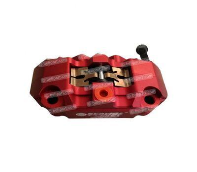 Caliper Dl 14R 4 Piston Merah Scarlet