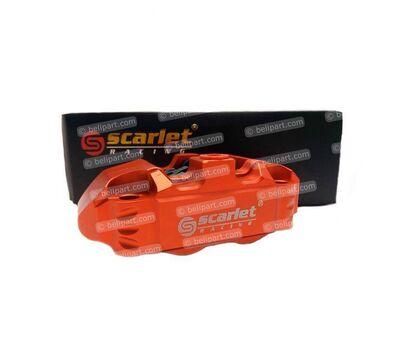 Caliper Dl 14R 4 Piston Oranye Scarlet