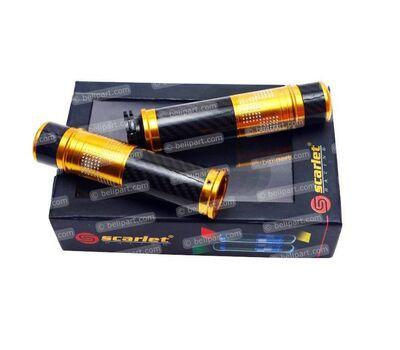 Grip Selongsong Gas Gold Scarlet