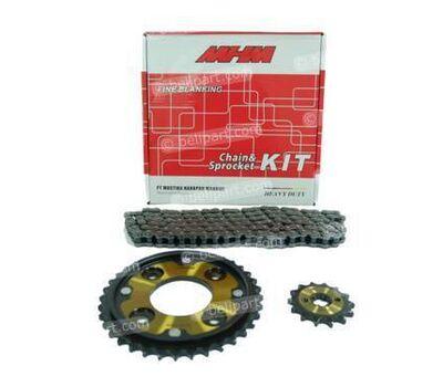 Gear Set + Rantai Heavy Duty Revo Fit 428H - 104 MHM