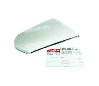 Pad/Tutup Cover Body Supra Fit New Silver Paravira