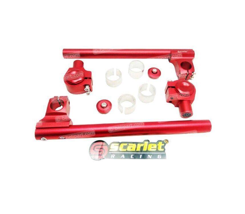 Stang Jepit Clip On 851/5 Universal Merah Scarlet